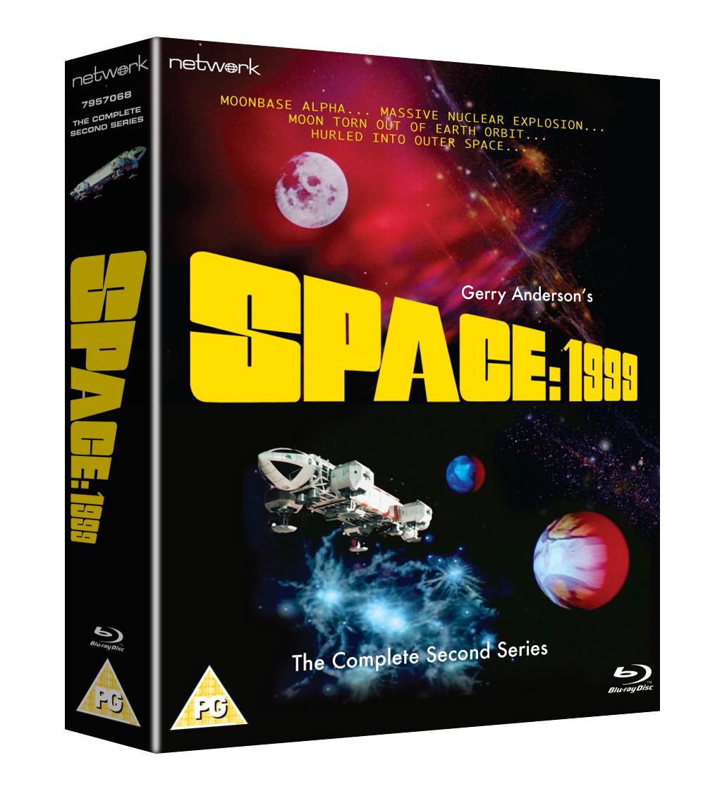 PR Space 1999 S2 BD LE artwork packaging